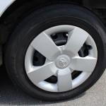 タイヤ溝もバッチリです