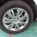 タイヤも新品同様です